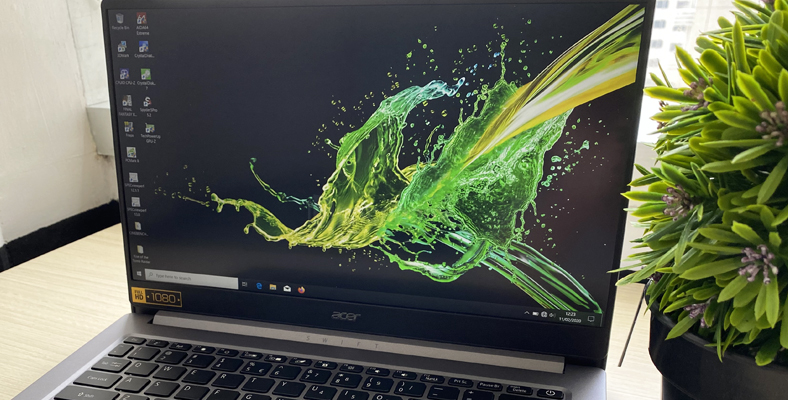 Layar FHD Acer Swift 3