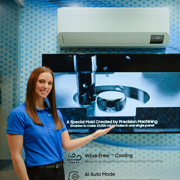 Samsung Hadirkan AC Terbaru dengan Wind-Free yang Diperkuat AI