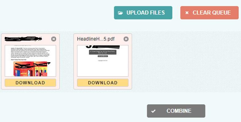 Combine PDF