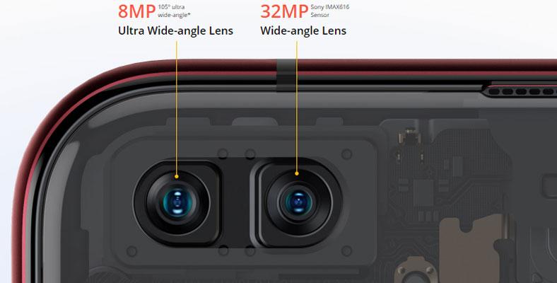 kamera depan realme x50 pro 5g