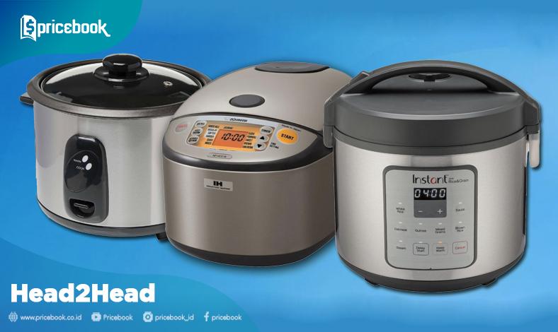 perbedaan rice cooker magic com magic jar