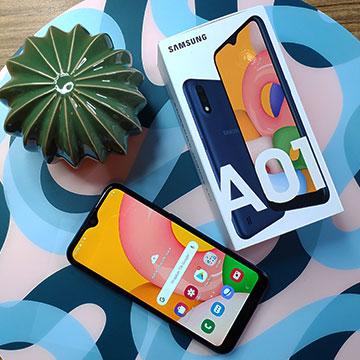 Galaxy A01 Jadi Hp Sejutaan Terbaru dari Samsung