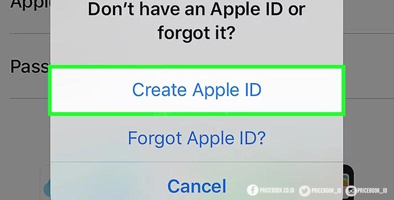 cara buat Apple ID baru