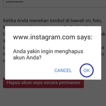 Hapus Akun Instagram, Selesai dalam 2 Menit!
