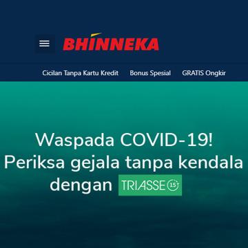 Bhinneka dan Triasse Hadirkan Rapid Test COVID-19 untuk Korporasi