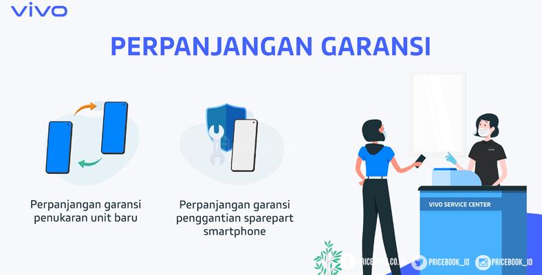 Vivo Perpanjang Masa Garansi Lebih Dari 100 Service Center Pricebook
