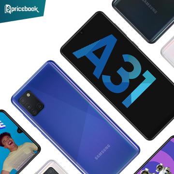 Samsung Galaxy A31 Dijual dengan Harga Mulai 4 Jutaan