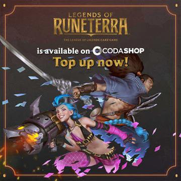 Legends of Runeterra Koin Tersedia Di Codashop