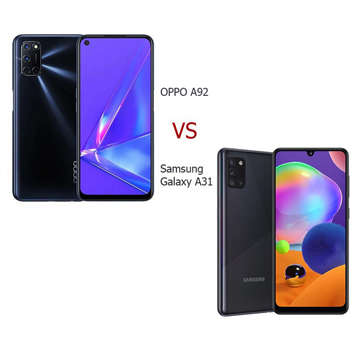 OPPO A92 vs Samsung Galaxy A31, Hp 4 Jutaan Berkamera 48MP