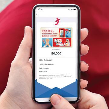 Cara Berbagi Hadiah Lebaran Digital dengan Gift Card LinkAja