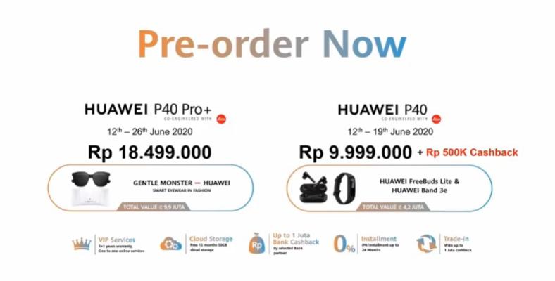 harga huawei p40