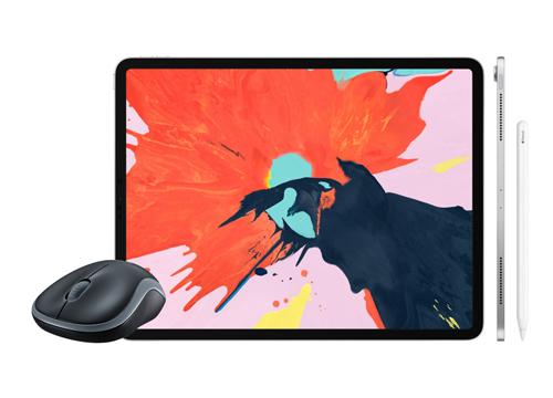 cara menggunakan mouse di ipad