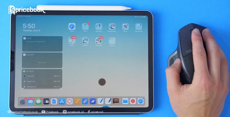ipad yang bisa menggunakan mouse