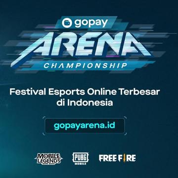 GoPay Arena Championship DiikutiLebih dari 30 ribu Gamer se-Indonesia