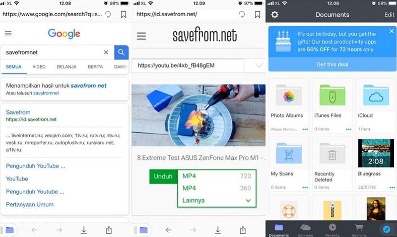 Download Video Youtube Di Iphone Gratis Pakai Cara Ini Pricebook