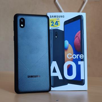 Samsung Galaxy A01 Core Kini Punya RAM dan ROM Lebih Besar