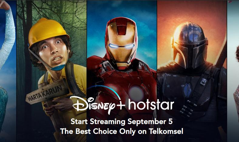 Langganan Disney+ Hotstar Untuk Pengguna Telkomsel