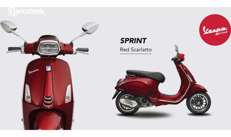 warna vespa sprint