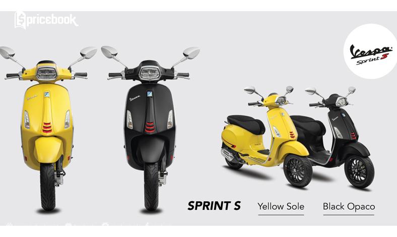 warna baru vespa sprint s