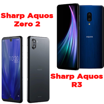 Review Duo Sharp Aquos Zero 2 dan Aquos R3