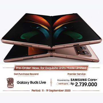 Jadi Hp Samsung Termahal, Galaxy Z Fold2 Buka Pre Order