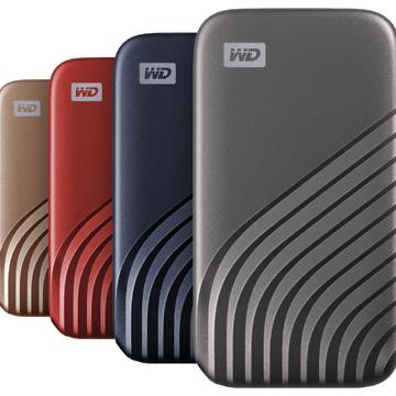 WD My Passport SSD, SSD Portable Kapasitas Besar