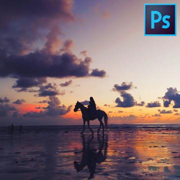 Tools Baru Adobe Photoshop, Bisa Bikin Fake Sunset Buat IG, Nih!
