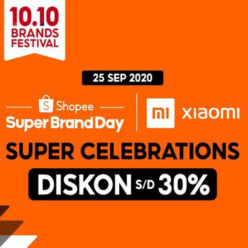 Hanya di Shopee! Xiaomi Beri Diskon 30% Hingga 1 Juta Semua Produk