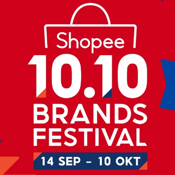 Ini 4 Brand yang Promo di Shopee 10.10 Brands Festival