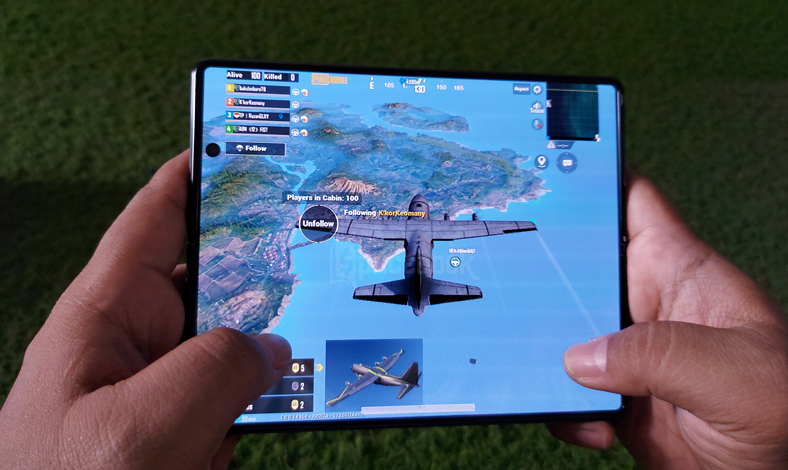 Hands On Samsung Galaxy Z Fold 2