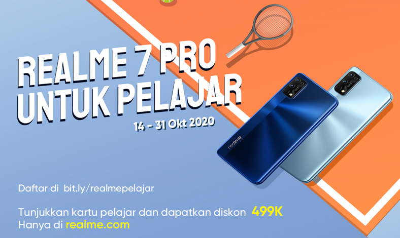 realme 7 Pro Untuk Pelajar