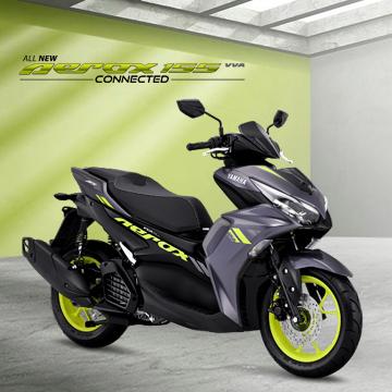 Yamaha All New Aerox 155 Connected Resmi Meluncur, Harga 20 Jutaan!
