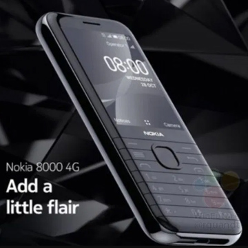 Rumor Nokia 8000, Hp Klasik yang RIlis Ulang Dengan Jaringan 4G