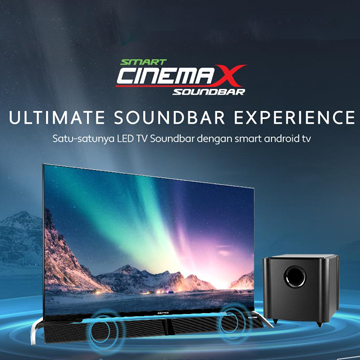 Polytron Rilis Smart Cinemax Soundbar dengan Smart Operating System