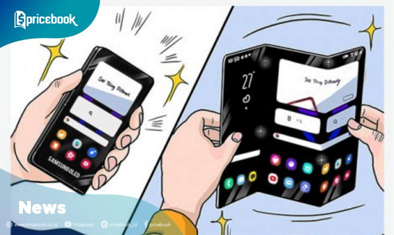 Samsung layar lipat tiga 2021