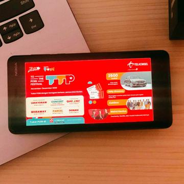 Telkomsel To the POIN, Apresiasi Telkomsel Sambut 2021 Untuk Pelanggan