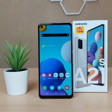 Review Samsung Galaxy A21s: Memori Lebih Lega