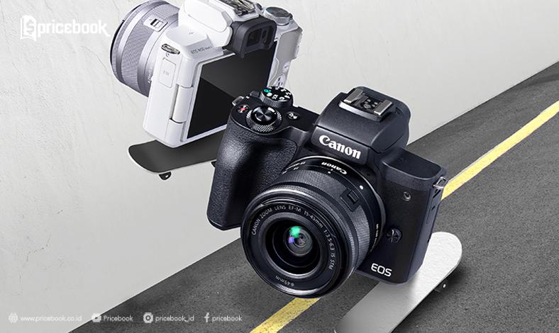 harga canon eos m50 II
