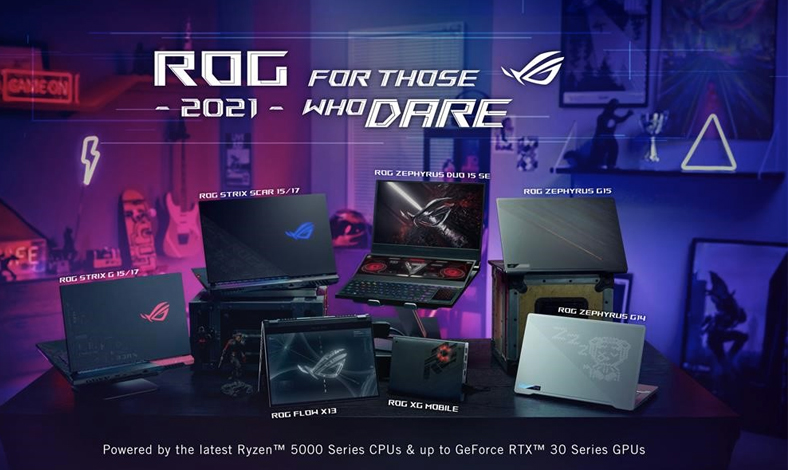Laptop Gaming ROG Terbaru di 2021