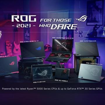 Jajaran Laptop Gaming ROG Terbaru di 2021