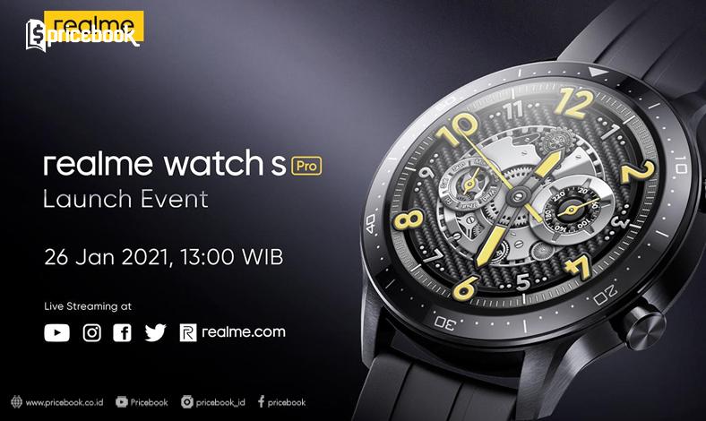 tanggal rilis realme watch s pro