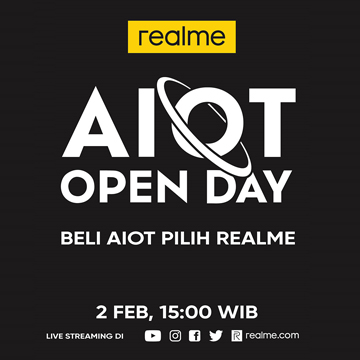 realme Gelar AIoT Open Day, Ungkap Strategi di 2021