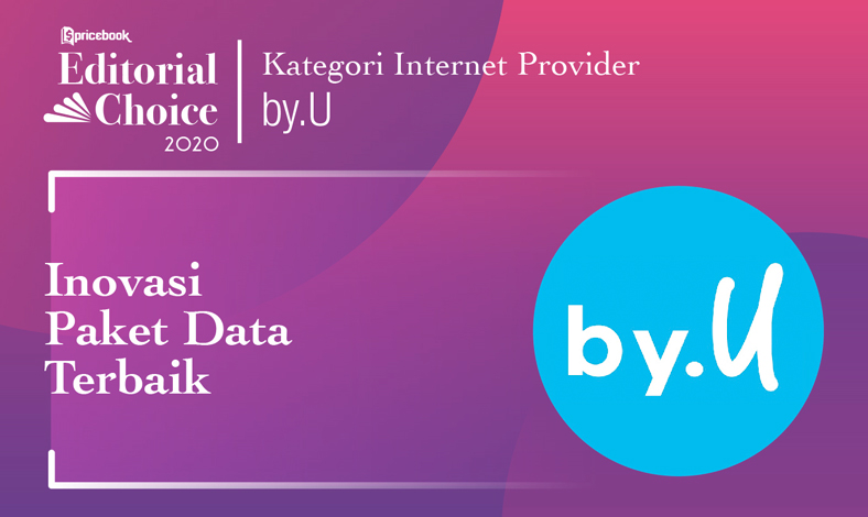 Inovasi Paket Data Terbaik: by.U