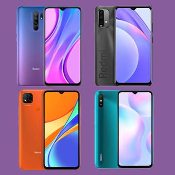 Perbedaan Redmi 9T vs Redmi 9 vs Redmi 9C vs Redmi 9A