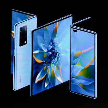 Huawei Mate X2, Hp Layar Lipat Falcon Wing Harga 40 Jutaan