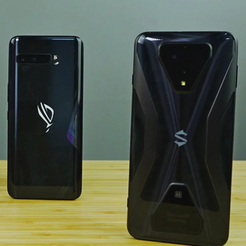 ASUS Rog Phone 3 vs Blackshark 3 Pro, Air Trigger lawan Pop Up Trigger