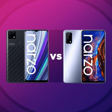 Perbedaan realme narzo 30A vs realme narzo 30 Pro 5G