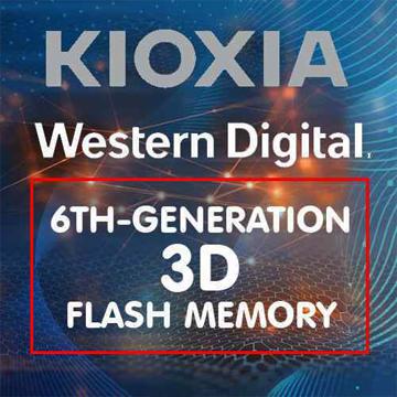 Kioxia dan Western Digital Umumkan Memori Flash 3D Generasi ke-6