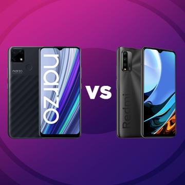 Perbedaan realme narzo 30A vs Xiaomi Redmi 9T