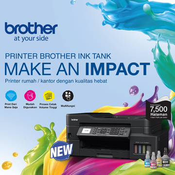 Brother Luncurkan Printer Ink Tak Khusus WFH dan UMKM